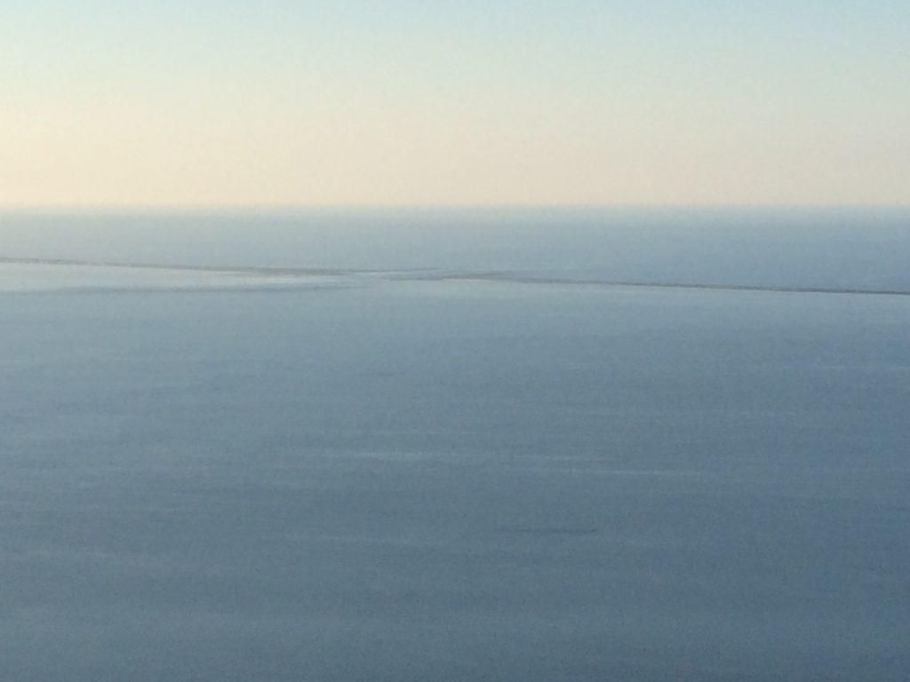 サロマ湖展望台からの眺め
