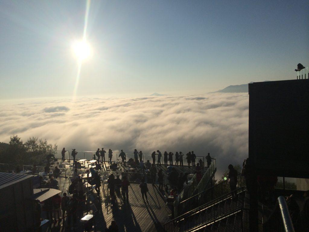 星野リゾート トマム雲海テラス