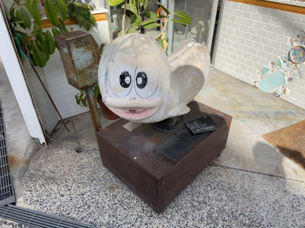 オバケのQ太郎の乗り物(尾道)