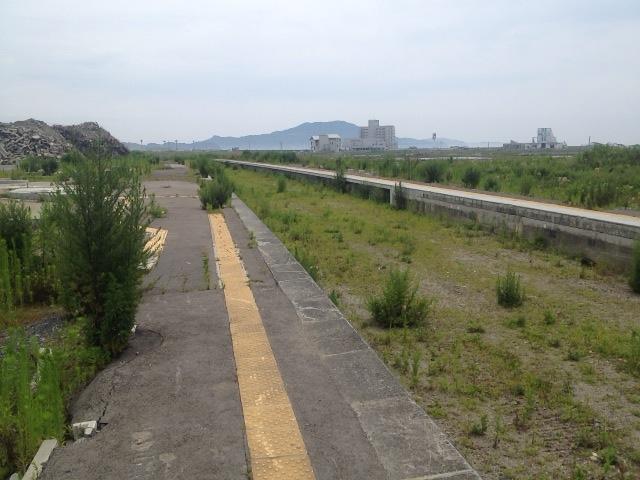 旧陸前高田駅