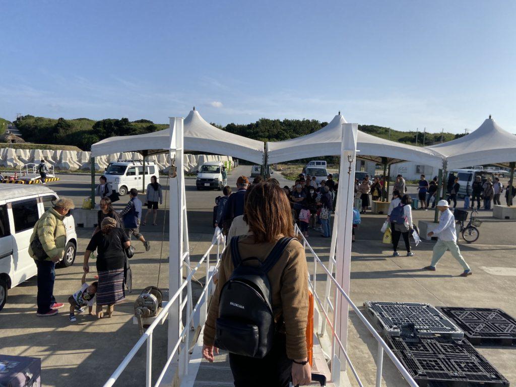 波照間港旅客ターミナル